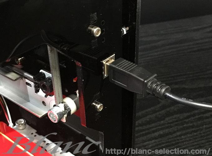 家庭で出来る レーザー彫刻機 1500mW DIY道具 DK-BL Qiiluのインストール方法