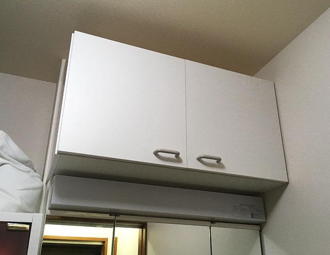 一人で洗面台の天袋を取り付けてみた!パナソニック(Panasonic) エムライン(MLine)【GQM75T1CWY】